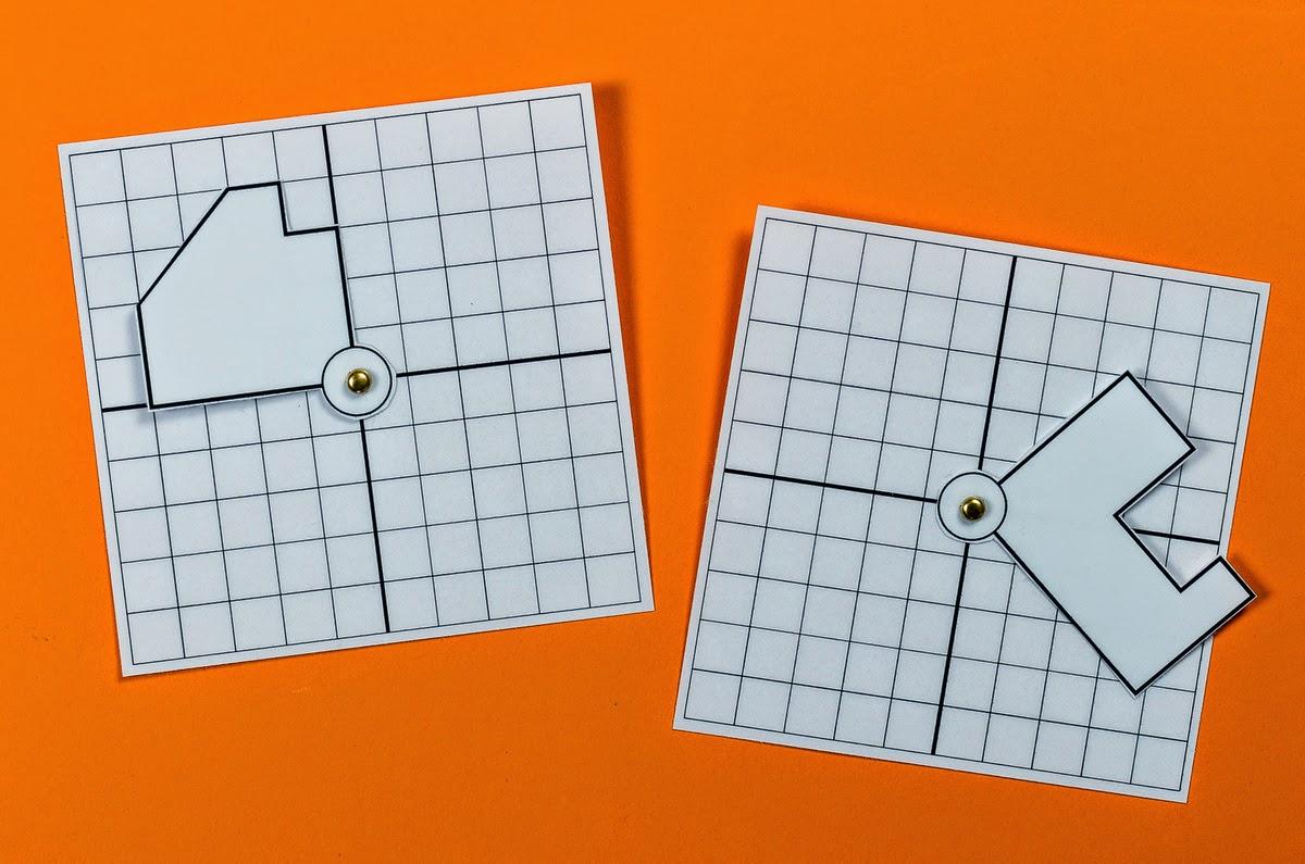 lernst252bchen drehsymmetrie anschauungsmaterial