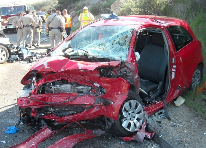 One third of teens killed in auto accidents were driving small cars