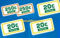 Logo Ipersoap ''Prova a vincere il doppio della spesa...e anche di più'': buoni da 20€ e 250€
