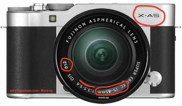 Fujifilm X-A5 С объективом XC 15-45mm f/3.5-5.6