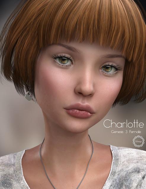 P3D Charlotte HD for Genesis 3 Female
