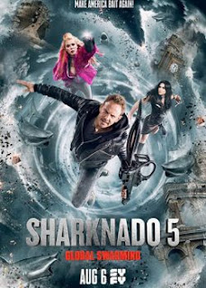 Download Film Sharknado 5: Global Swarming (2017) 720p Bluray Subtitle Indonesia