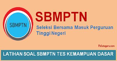 Latihan Soal SBMPTN 2019 dan Pembahasan Kunci Jawaban PDF