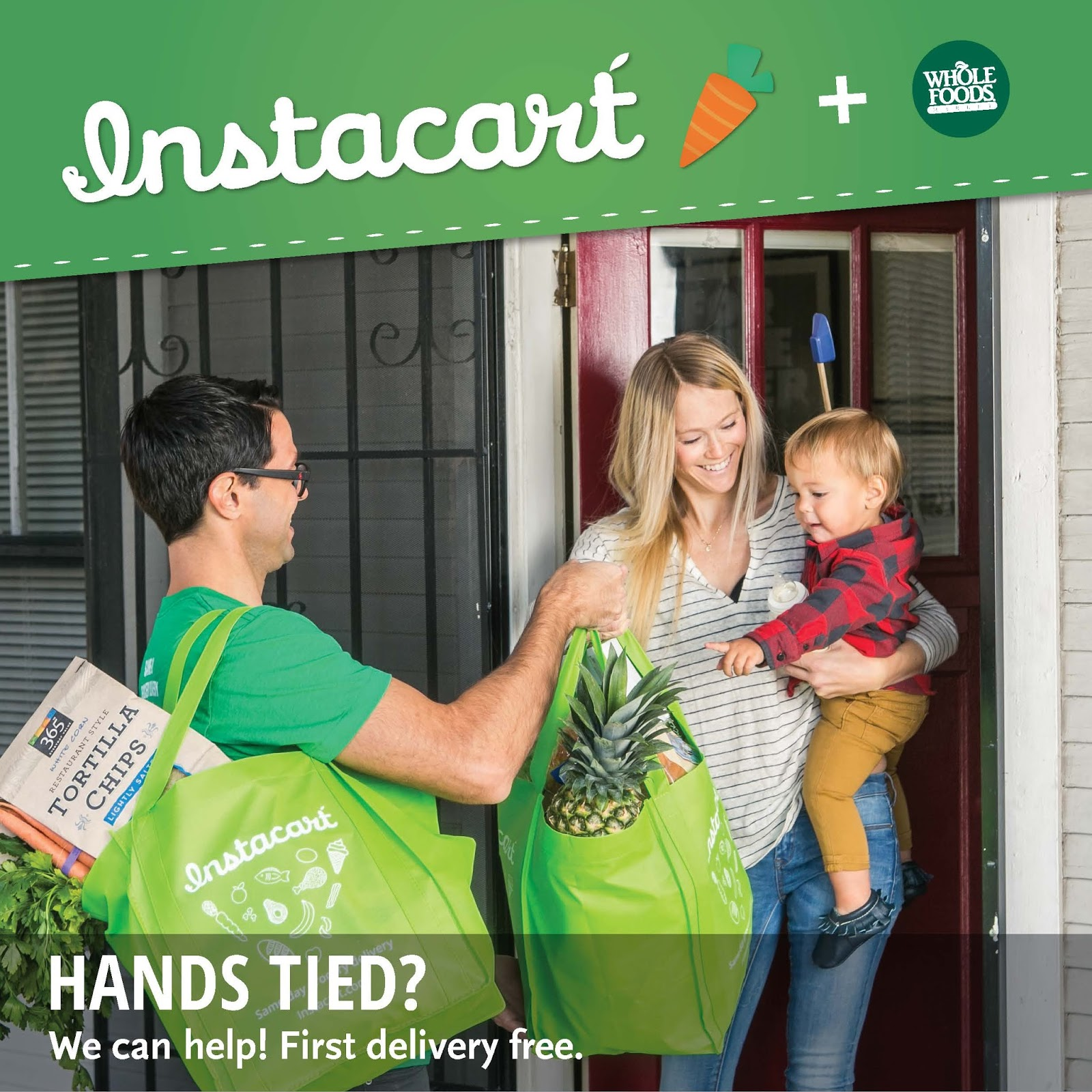 &chloe: instacart & the day we became models