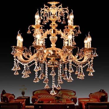Các mẫu đèn chùm cổ điển châu Âu rất đáng sở hữu