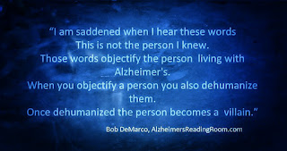 Alzheimer's sufferers live in a near constant state of confusion caused by the brains inability to sort out stimuli.