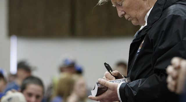 Trump signed Bibles. Heresy? Many religious leaders say no
