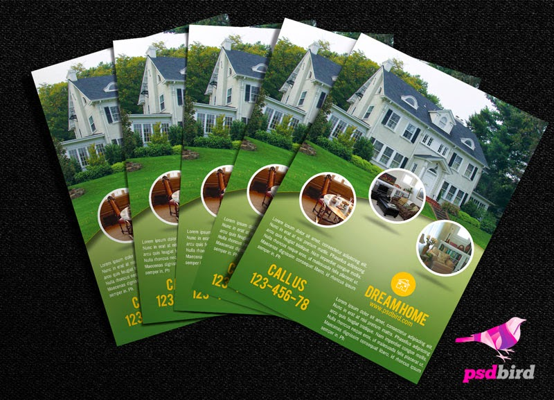 Free PSD Real Estate Brochure