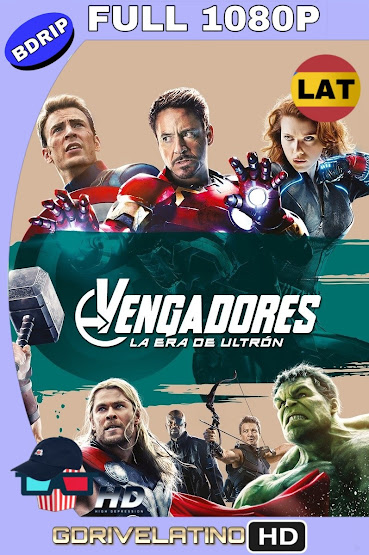 Avengers: Era de Ultrón (2015) BDRip 1080p Latino-Ingles MKV