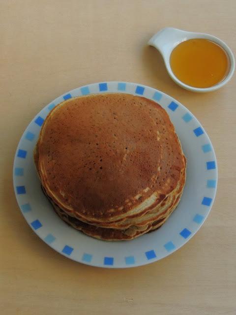 Eggless Buckwheat Pancakes
