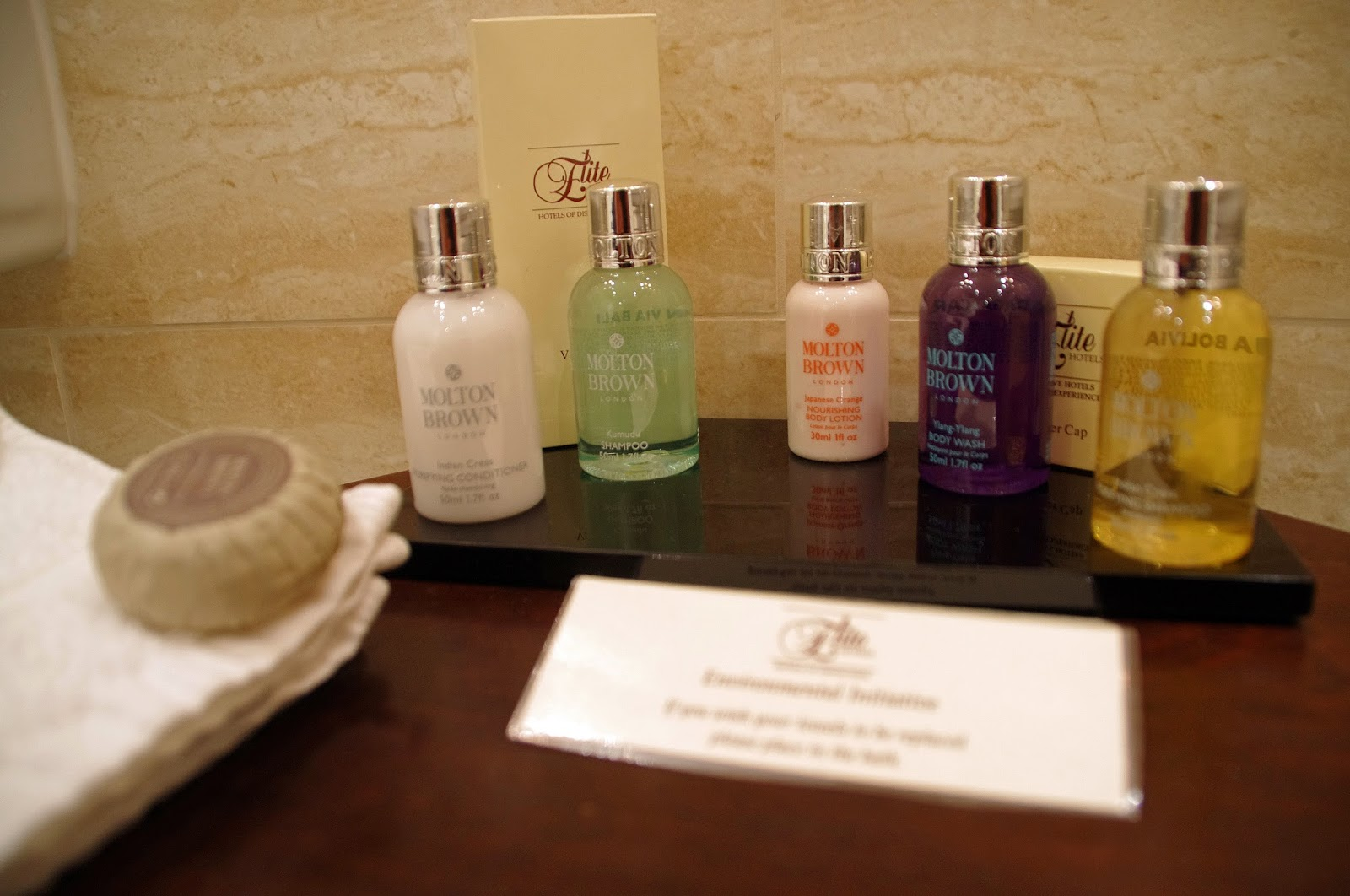 The Grand Hotel Eastbourne Molton Brown Toiletries