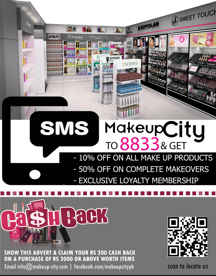 makeup city karachi, pakistan beauty blogger