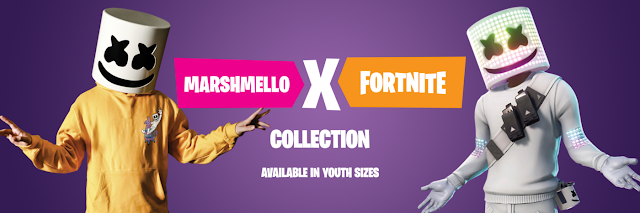Marshmello Fortnite merch