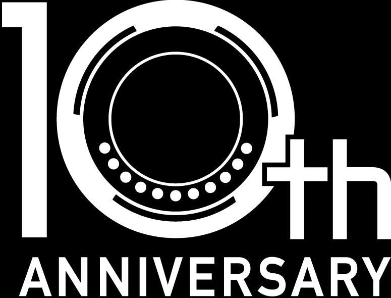 Логотип десятилетнего юбилея системы Micro Four Thirds