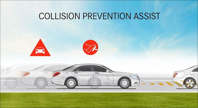 Hệ thống phòng ngừa va chạm chủ động Collision Prevention Assist Plus (CPA Plus)