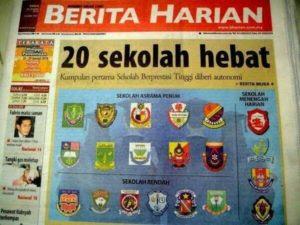 Sekolah Hebat Berita Harian