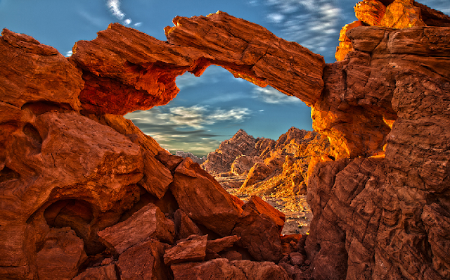 Parque Valley of Fire em Las Vegas