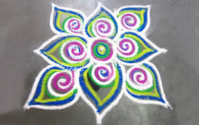 Easy and Small Rangoli Designs For Diwali