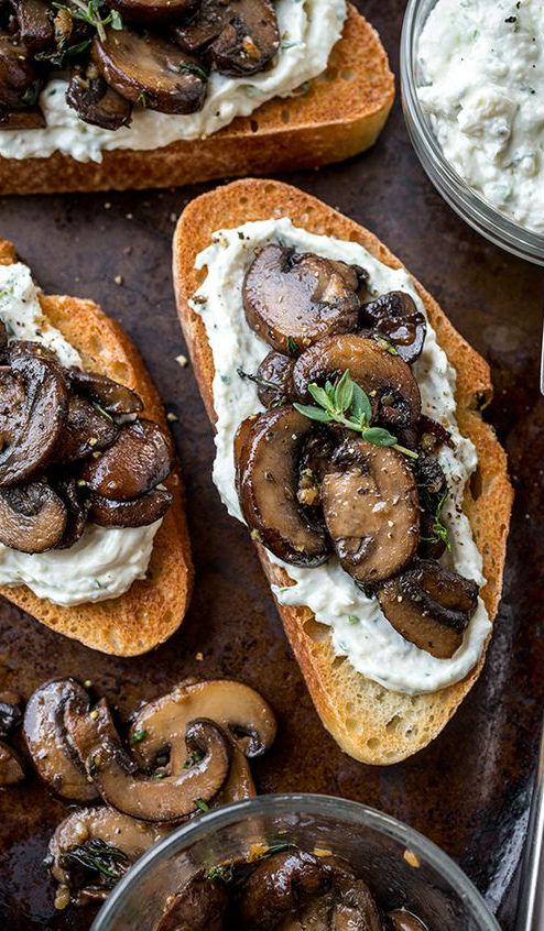 Garlic Mushroom Toast, and the Deep, Earthy Flavor of Life