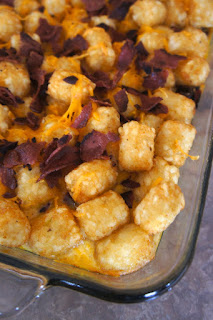 Cheesy Tater Tot Breakfast Bake: Savory Sweet and Satisfying