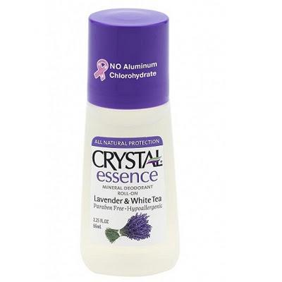 Dezodorant Crystal w kulce o zapachu lawendy z białą herbatą