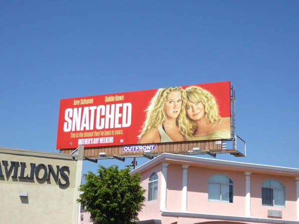 Snatched movie billboard