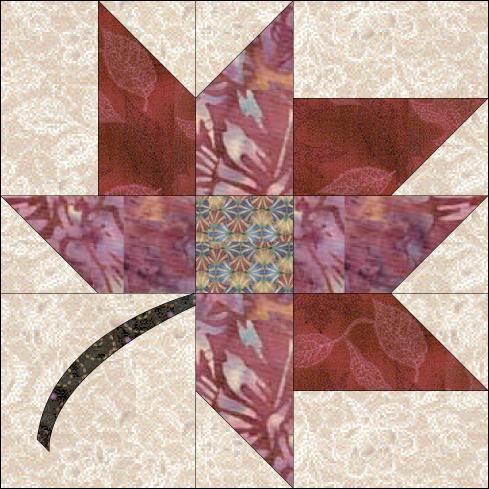 Leaf Quilt Pattern Blocks : Debby Kratovil Quilts: 2016 Calendar Girls: Blazing Autumn Leaves