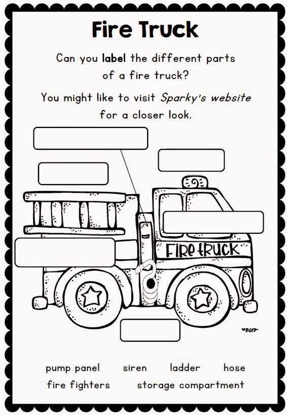 Clever Classroom: Fire Safety Printables and Support Resources