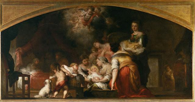 Nacimiento de la Virgen, 1660