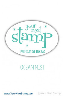 Premium Dye Ink Pad Ocean Mist