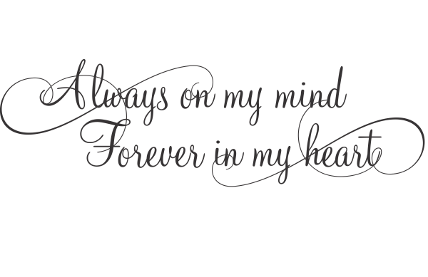 Forever In My Heart Quotes. QuotesGram