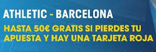 promocion William hill 50 euros gratis Athletic vs Barcelona 5 enero