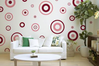 Todo charme das figuras geométricas nas paredes