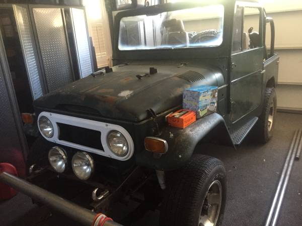 1974 Toyota FJ40 Land Cruiser For Sale $6,800
