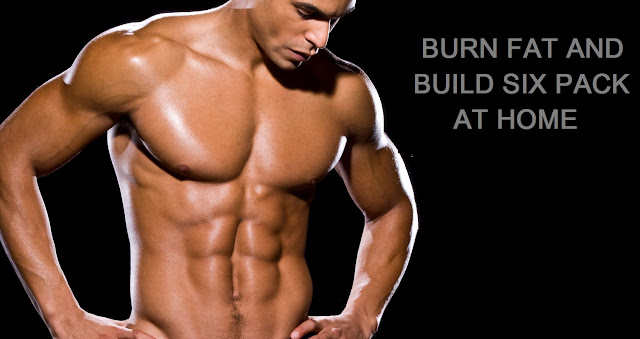 build abs and burn belly fat at home