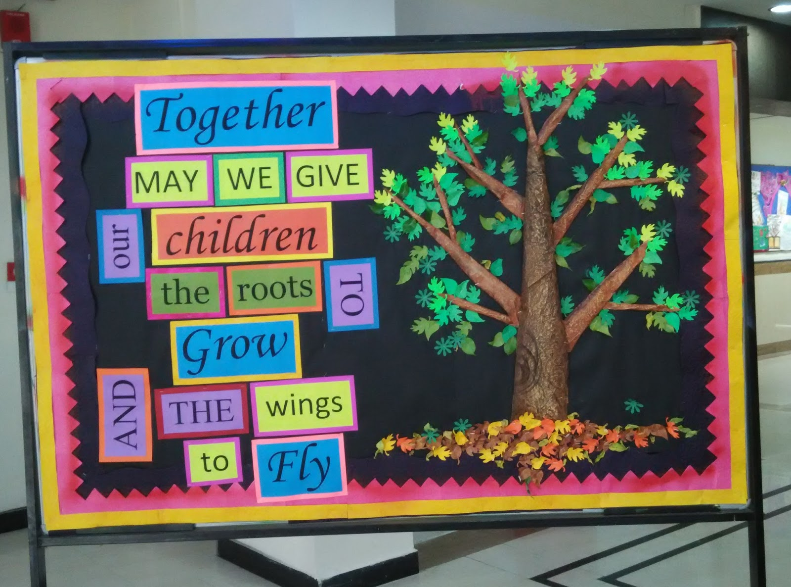 Art Craft Ideas And Bulletin Boards For Elementary Schools Ptm Bulletin Board