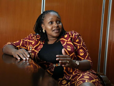 Gilgil MP Martha Wangari. PHOTO | The star