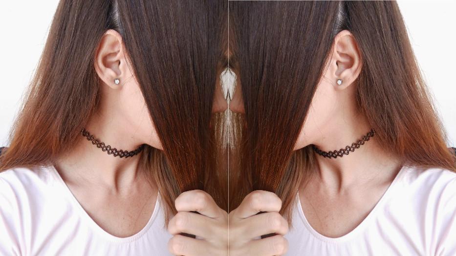 como cortarse el cabello en casa, corte de mujer, corte de cabello bob