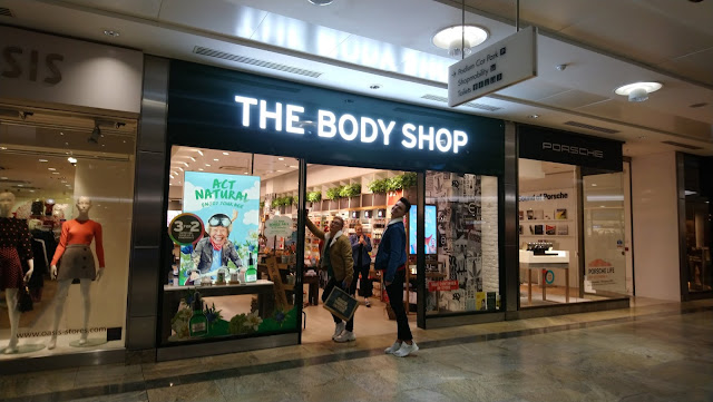 An evening at The Body Shop with Southampton Bloggers