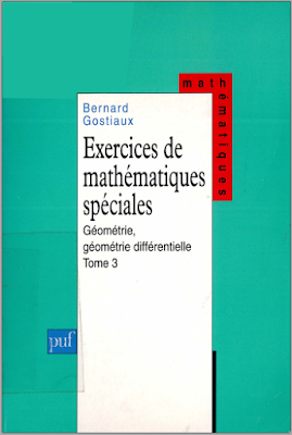 Livre exercices de mathématiques spéciales Tome 3 - Géométrie, géométrie différentielle pdf