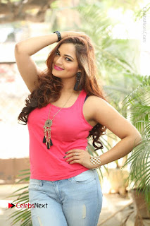 Tollywood Actress Ashwini Latest Stills in Ripped Jeans  0013.JPG