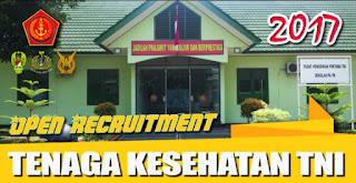 Karir Tenaga Kesehatan TNI 2017.