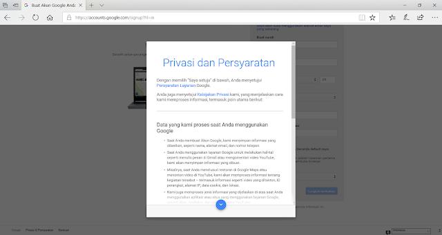 Privasi dan Persyaratan Layanan Google