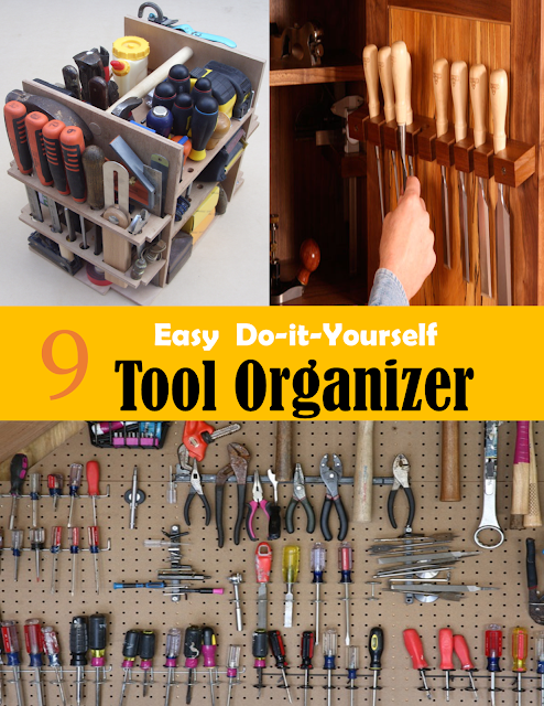 9 Diy Tool Organizer Declutter Your Workshop With These 9