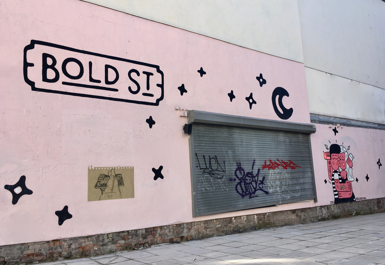 Bold Street - Liverpool city break