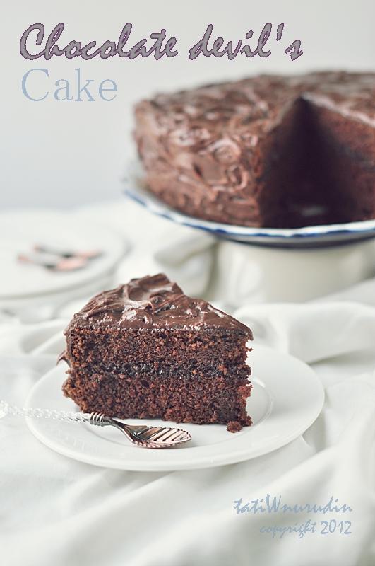 Resep Devil Chocolate Cake