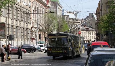 Trolejbus Škoda 14Tr #543, Lwów