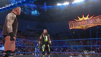 WrestleMania 35 WWE Randy Orton AJ Styles