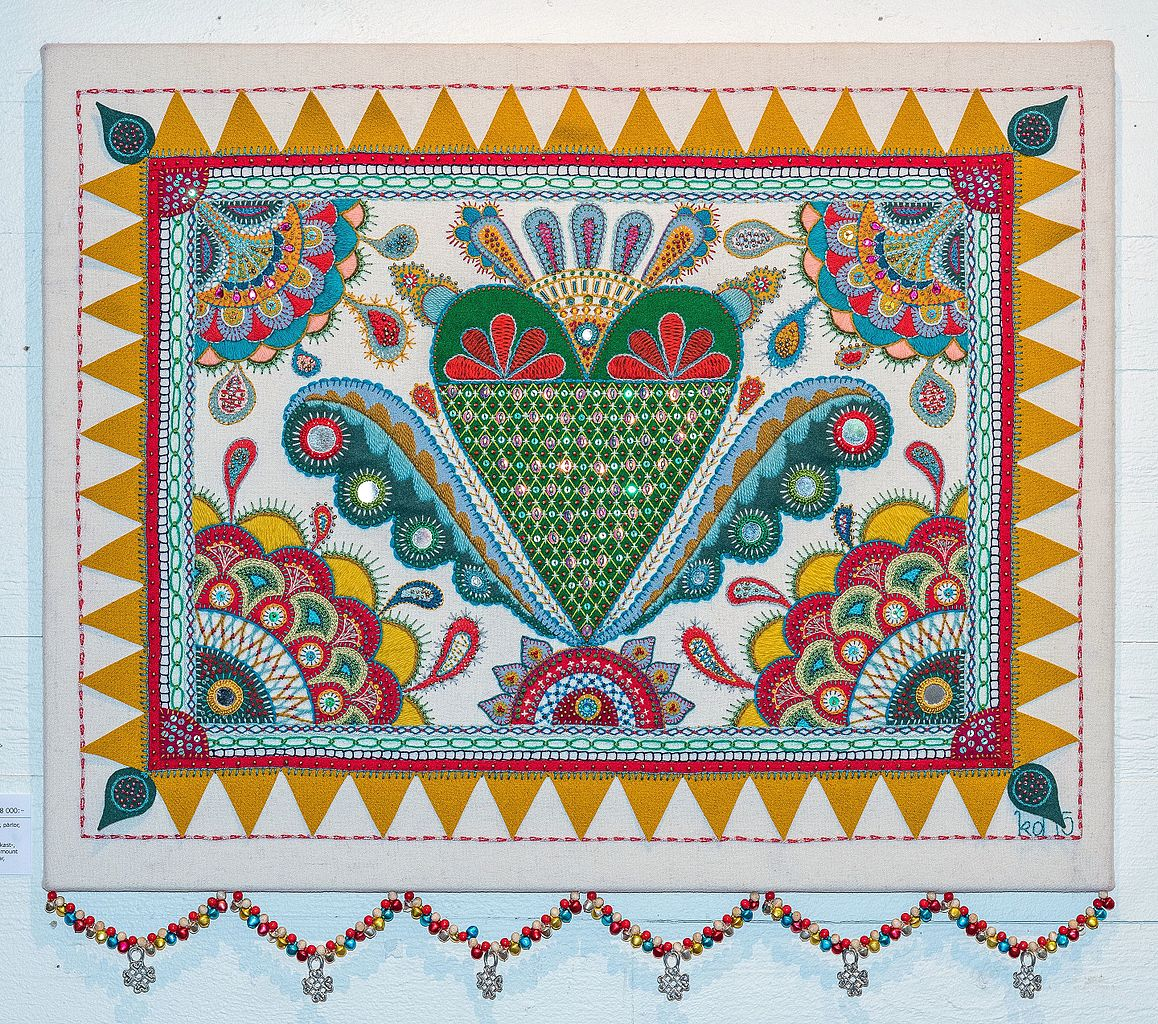 Tabatha Yeatts The Opposite Of Indifference Swedish Embroidery