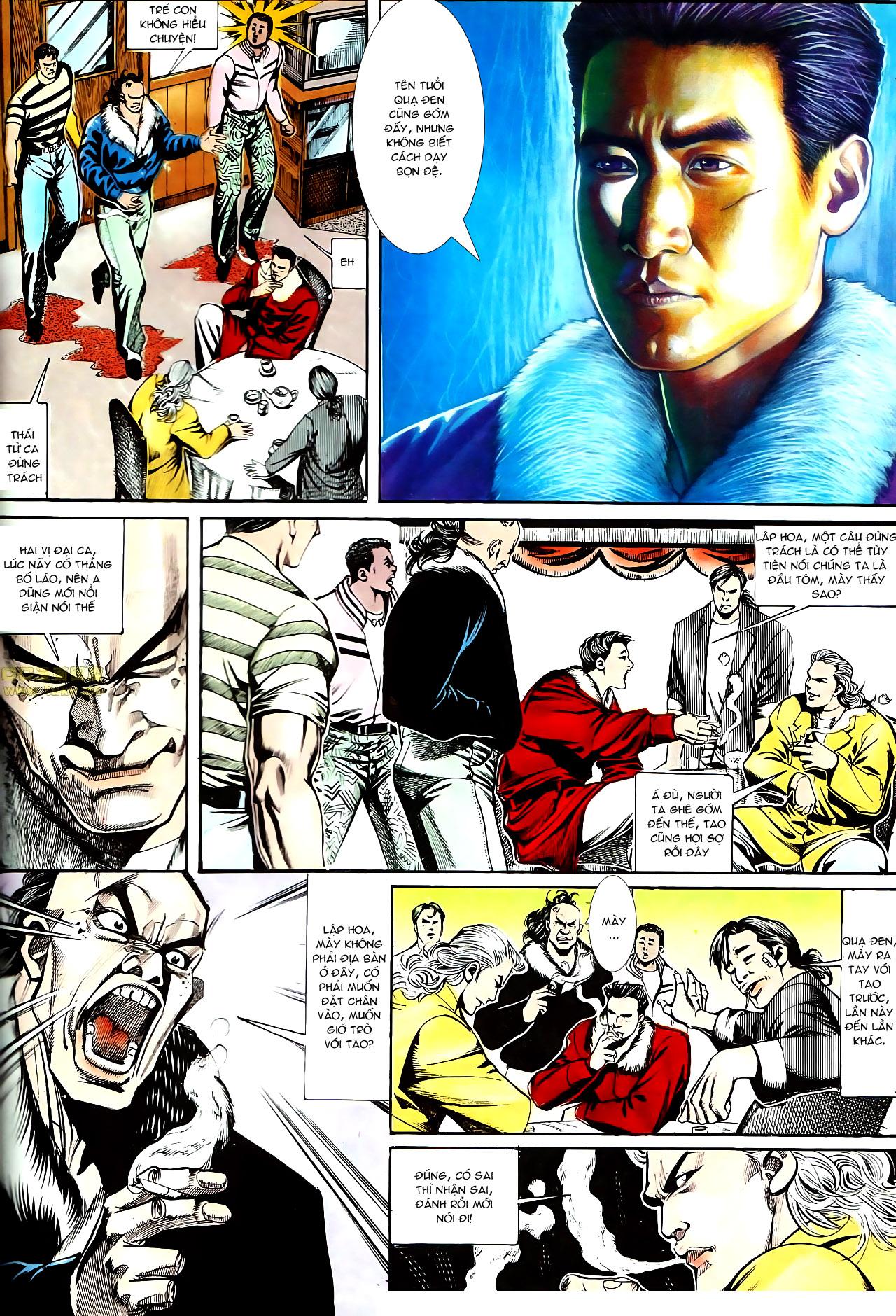 Người Trong Giang Hồ chapter 153: xích mích trang 5